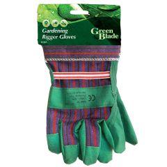 Green Blade Gardening Rigger Gloves