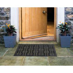 Image of Greenfingers Rubber Heavy Duty Doormat - 40x60cm