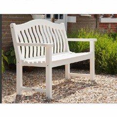 Alexander Rose White Turnberry Bench - FSC 5ft