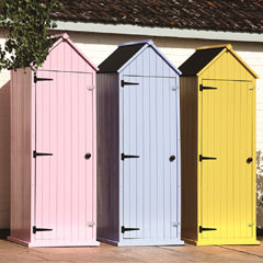 Brundle Brighton Small Apex Shed - W7ft x D2ft