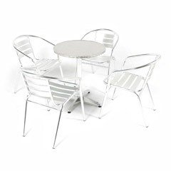 Greenfingers Kensington 4 Seater Bistro Set