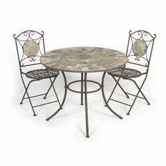 Ellister Nova 2 Seater Patio Set - 80cm