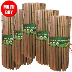 Bamboo Edging 5 x 1m Multi Buy