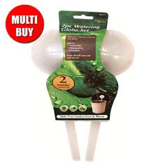 Watering Globe Set - 4 x 2 Piece Multi-Buy