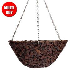Botanico Hyacinth Hanging Basket 3 x 40.5cm Multi-Buy