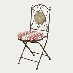 Ellister Rio Patio Chair - Candy Cushion