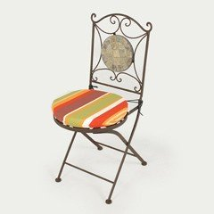 Ellister Rio Patio Chair - Autumn Cushion