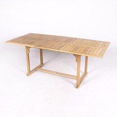 Greenfingers White Oak Extending Table