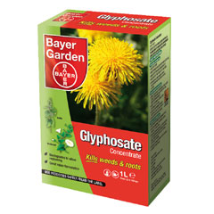 Bayer Garden Glyphosate Concentrated Weedkiller 1lt