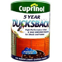 Cuprinol Ducksback Waterproofer Harvest Brown 5 Litres