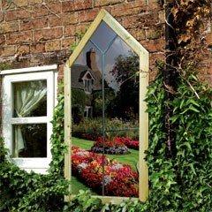 Grange Garden Mirror - Gothic Arch