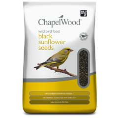 Chapelwood Black Sunflower Seeds 3.5kg