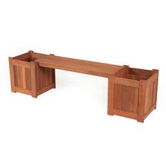 Planter Box Garden Bench