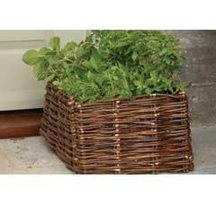 Burgon & Ball Natural Willow Herb Planter