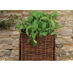 Burgon & Ball Natural Willow Potato Planter