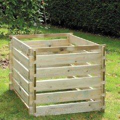 FSC Medium Timber Compost Bin - 605 Litres