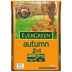 Evergreen Autumn 2 in 1 Lawn Food - 12.6kg - 360sqm