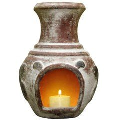 Gardeco Espana Candle Chiminea With Candle