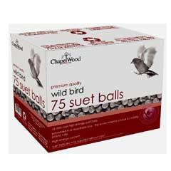 Chapelwood Bird Food - 75 Suet Balls