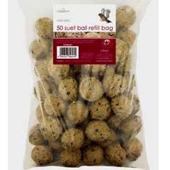 Chapelwood Suet Balls - 50 Refill Bag