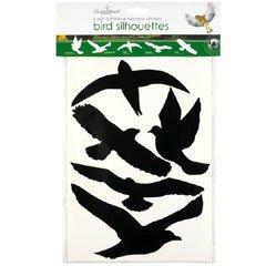 Chapelwood Bird Shape Window Silhouettes