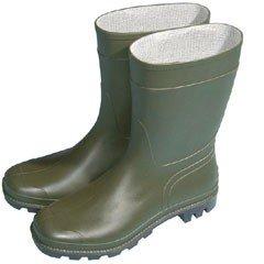 Wellies Basic Half Length - Green