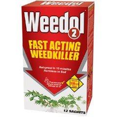 Weedol 2 Weedkiller - 12 Sachet