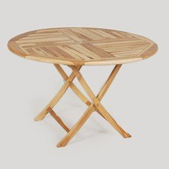 Greenfingers Teak Round Table - 120cm