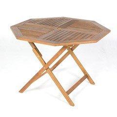 Greenfingers Cadiz FSC Acacia Octagonal Folding Table - 110cm