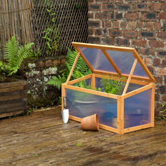 Terra FSC Fir Cold Frame - W3ft x D1.5ft