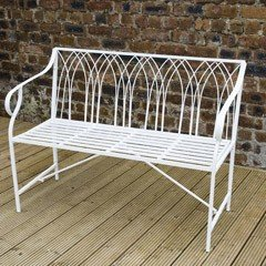 Greenfingers Gothic Arch Bench
