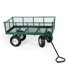 Terra Large Garden Trolley 318kg Capacity 136x63.5x28cm deep