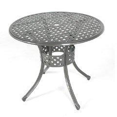 Ellister Stamford Round Table - 85cm Grey