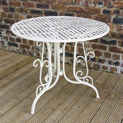 Ellister Mercia Patio Table - 90cm