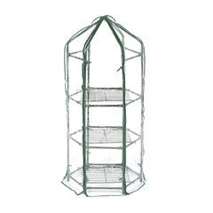 Greenfingers Hexagonal Greenhouse - 3 Tier Medium