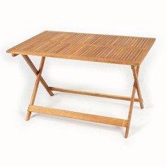Greenfingers Harrington FSC Acacia Folding Rectangular Table - 120cm
