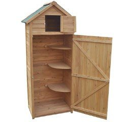 Greenfingers Sentry Apex Storage Shed - 2.5 x 6ft