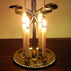 Replacement Candles For Angel Chimes