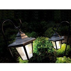 Cole and Bright Shepherds Hook Solar Light