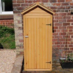 Wooden Apex Tool Shed - 3 x 6ft