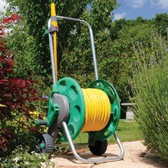 Hozelock 2434 60m Hose Cart With 30m Hose