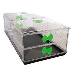 Vitopod Heated Propagator - Large Double Height