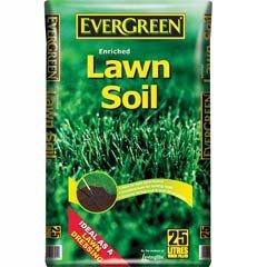 Evergreen Lawn Soil 25 Litre