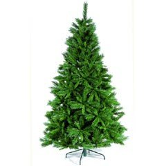Festive Plain Artificial Christmas Tree - 5.10ft