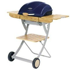 Outback Omega 200 Charcoal BBQ - Midnight Blue