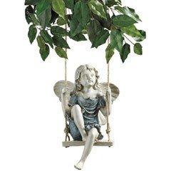 Design Toscano - Fairy on a Swing Ornament