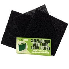 Replacement Carbon Filters - Pack of 3