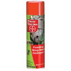 Bayer Foaming Wasp Nest Destroyer 300ml