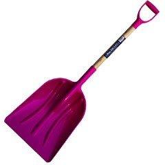Heavy Duty Snow Shovel - Pink