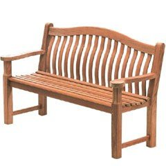 Alexander Rose Turnberry FSC Mahogany Bench - 5ft